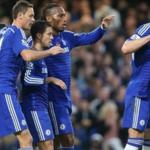 Chelsea extended their unbeaten run in the Premier League to 10 matches, beating CRC