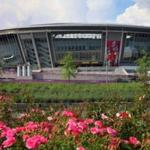 Donbass-Arena caused numerous failures in the shells