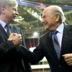The football Federation of Ukraine: in Switzerland to discuss sanctions against the RFU