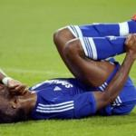 The Chelsea footballer Didier Drogba could miss six months due to injury