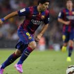 Footballer Luis Suarez will have the opportunity to play for Barcelona in a published game on October 26