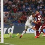The players of CSKA has largely lost to Roma in the Champions League game