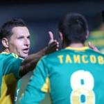 Players Kuban defeated Amkar in the championship game of Russia