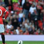 The players of Manchester United lost to Swansea in the championship game of England