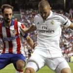 The players of real Madrid lost to Atletico in the championship game of Spain