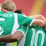 Players Terek defeated Amkar in the championship game of Russia