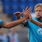 Players of Zenit won Ufa in the championship game of Russia