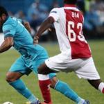Players of Zenit went out in the group stage of the Champions League