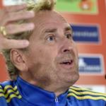 The head coach of the Swedish national football: poorly informed about the possibilities of the Russian team