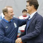 Capello: football team of the Russian Federation showed a quick game to play with a team of Azerbaijan