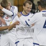 Dynamo Kiev drew against Olimpik Donetsk in the Ukrainian championship game
