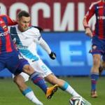Key moments of the tournament the 12th round of the Russian championship with CSKA - Zenit