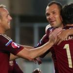 Team RFPL, consisting of players of the national team of Russia on football, has the ability to be created for the 2018 world Cup