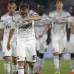 Major defeat of the Russian football clubs in European competition. Dossier