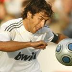 The best scorer in the history of real Madrid Raul became a member of the American new York Cosmos