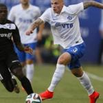 Moscow Dinamo will play against Hapoel in the second leg football League Europe