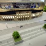 In Moscow Dynamo stadium began pouring the Foundation slab