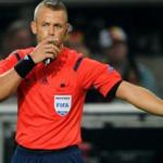 Norwegian referee Svein Moen will serve the UEFA Champions League Match between Benfica players and Zenith
