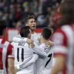 Real Madrid drew with Atletico Madrid in the first leg of the Spanish super Cup football