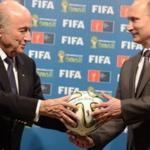 Head of FIFA during the visit to the Russian Federation agreed with Putin issues of preparation for the 2018 world Cup