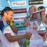 Team Russian beach soccer defeated in the Grand final of the Euroleague