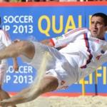 Team Russian beach soccer also started with a win in the Intercontinental Cup