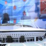 Smolny: at walking distance from the Zenith Arena will be built yacht club