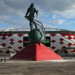 Official opening of the football stadium Spartak Moscow