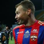 Vasily Berezutsky: the Return part Dzagoev's strikes and Wernbloom - amplification for CSKA