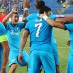 Zenit beat the standard in the first play-off match of the Champions League qualification