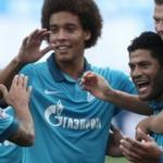 Zenit will play with the standard in the second leg play-off stage of the Champions League
