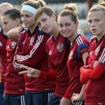 Women's team of Russia on football lost their chances to qualify for the world Cup 2015
